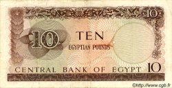 10 Pounds ÉGYPTE  1964 P.041 TB+
