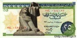 25 Piastres ÉGYPTE  1972 P.042 pr.NEUF
