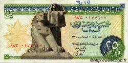 25 Piastres ÉGYPTE  1972 P.042 TTB