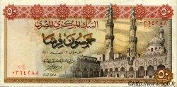 50 Piastres ÉGYPTE  1967 P.043 TTB