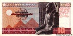 10 Pounds ÉGYPTE  1972 P.046 SPL+