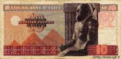 10 Pounds ÉGYPTE  1974 P.046 TB