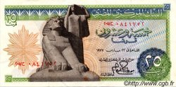 25 Piastres ÉGYPTE  1977 P.047 TTB