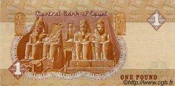 1 Pound ÉGYPTE  1987 P.050b SUP