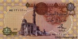 1 Pound ÉGYPTE  1987 P.050b SPL