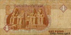 1 Pound ÉGYPTE  1990 P.050b TB