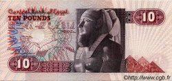 10 Pounds ÉGYPTE  1978 P.051 SUP