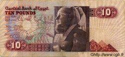 10 Pounds ÉGYPTE  1985 P.051 TB