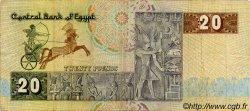 20 Pounds ÉGYPTE  1979 P.052a TB+