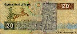 20 Pounds ÉGYPTE  1982 P.052a TB