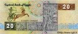 20 Pounds ÉGYPTE  1982 P.052a SUP+