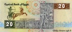 20 Pounds ÉGYPTE  1982 P.052a SPL