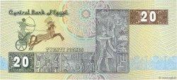 20 Pounds ÉGYPTE  1984 P.052b SPL