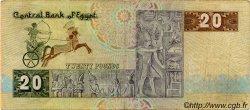 20 Pounds ÉGYPTE  1986 P.052b TB+