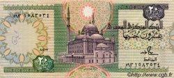 20 Pounds ÉGYPTE  1987 P.052b TTB