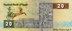 20 Pounds ÉGYPTE  1987 P.052b TTB+