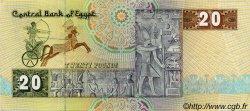 20 Pounds ÉGYPTE  1994 P.052c TTB+