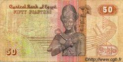 50 Piastres ÉGYPTE  1989 P.058b TB