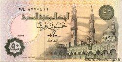 50 Piastres ÉGYPTE  1989 P.058b SPL