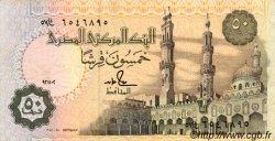 50 Piastres ÉGYPTE  1992 P.058c TTB