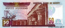 50 Pounds ÉGYPTE  1993 P.060 SUP+