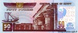 50 Pounds ÉGYPTE  2001 P.066a NEUF