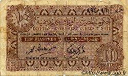10 Piastres ÉGYPTE  1940 P.166b B