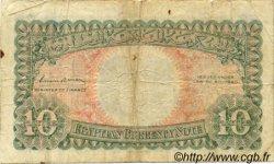 10 Piastres ÉGYPTE  1940 P.167b TB