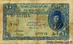 10 Piastres ÉGYPTE  1940 P.168a B