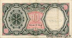 10 Piastres ÉGYPTE  1961 P.181d TTB