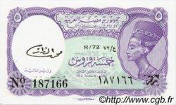 5 Piastres ÉGYPTE  1971 P.182k NEUF