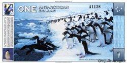 1 Dollar ANTARCTICA  1996 P. NEUF