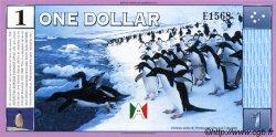1 Dollar ANTARCTICA  1999 P. NEUF