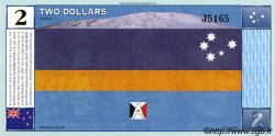 2 Dollars ANTARCTICA  1999 P. NEUF