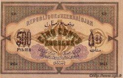 500 Roubles AZERBAIDJAN  1920 P.07 SPL+