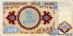 500 Manat AZERBAIDJAN  1993 P.19a TTB