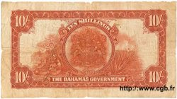 10 Shillings BAHAMAS  1930 P.05 B+
