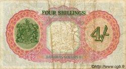 4 Shillings BAHAMAS  1936 P.09e TB