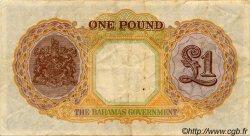 1 Pound BAHAMAS  1936 P.11c TTB