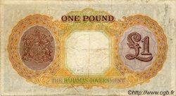 1 Pound BAHAMAS  1936 P.11e pr.TTB