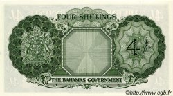 4 Shillings BAHAMAS  1953 P.13d pr.NEUF