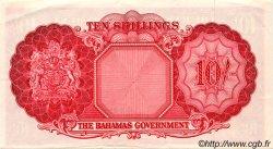 10 Shillings BAHAMAS  1953 P.14b SUP à SPL