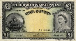 1 Pound BAHAMAS  1953 P.15c pr.TTB