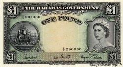 1 Pound BAHAMAS  1953 P.15d pr.NEUF