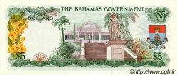 5 Dollars BAHAMAS  1965 P.20a pr.NEUF