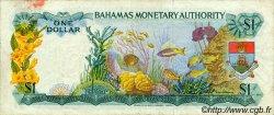 1 Dollar BAHAMAS  1968 P.27a TB