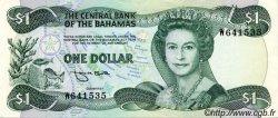 1 Dollar BAHAMAS  1984 P.43b var pr.SUP