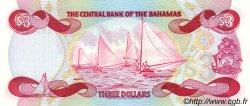 3 Dollars BAHAMAS  1984 P.44a NEUF