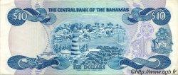 10 Dollars BAHAMAS  1984 P.46a TTB+