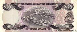 20 Dollars BAHAMAS  1984 P.47a TTB+